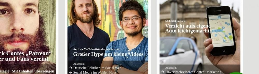 In eigener Sache: UPLOAD Magazin – Neue Ausgabe und iOS-App
