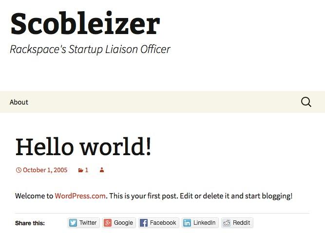 Ohne Frage ist Robert Scoble ein Influencer, aber wäre er das auch ohne den Scobleizer geworden?